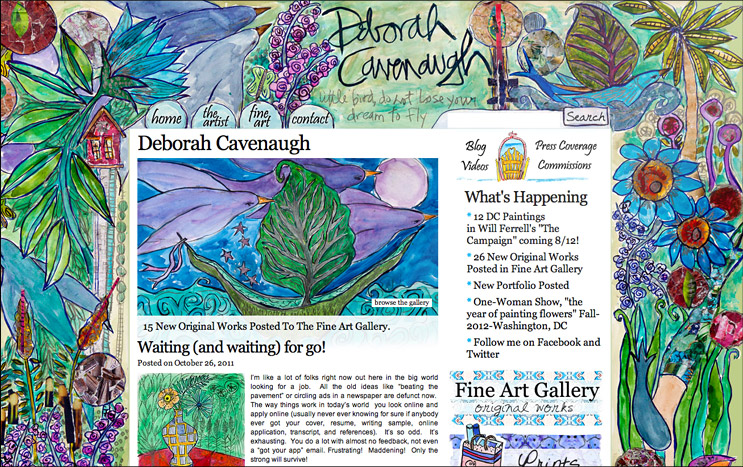 Deborah Cavenaugh 2012 Design Update